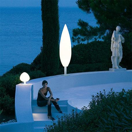 Les lampes pour socle, les petits poucets des lampes d'extérieur