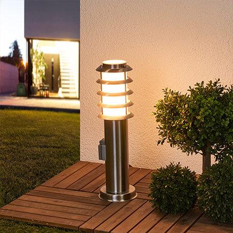Lampes pour socle avec option supplémentaire : une prise