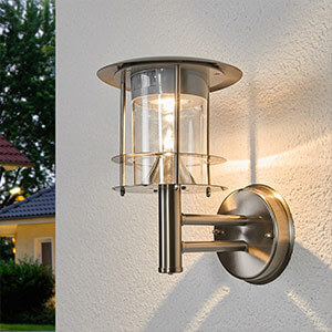 Applique murale solaire LED moderne Brush