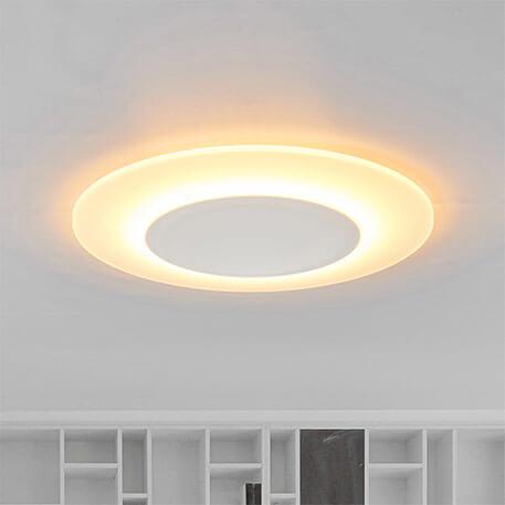 Plafonnier ultra-plat LED Flat - 1 200 lumens