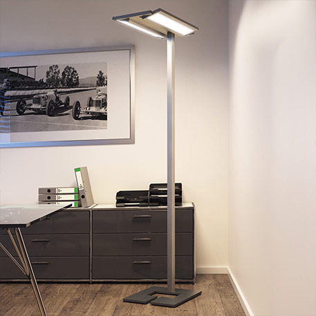 Lampadaire LED Classic Tec pour le bureau