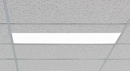 Plafonnier LED rectangulaire Inga, blanc neutre