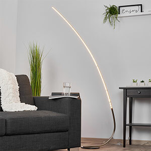 Lampadaire à LED minimaliste Madeleine