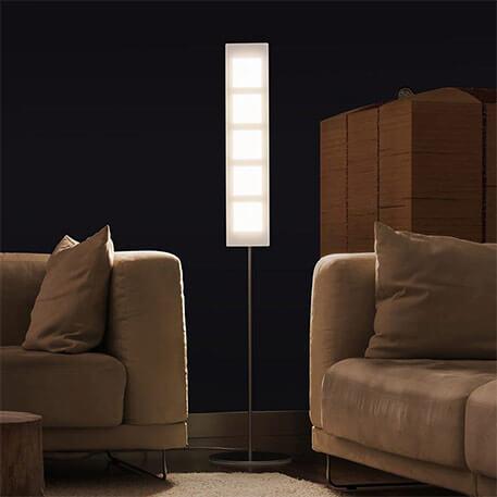Lampadaire extravagant LED