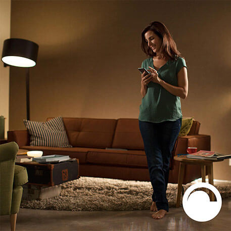 Philips Hue Blanc 9,5 W E27 Set de 2