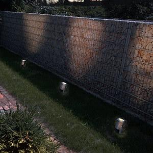 Mettez votre jardin en scène grâce à des spots d'extérieur