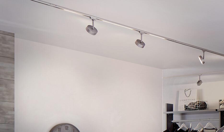 lampes sur rail commander en ligne. Black Bedroom Furniture Sets. Home Design Ideas