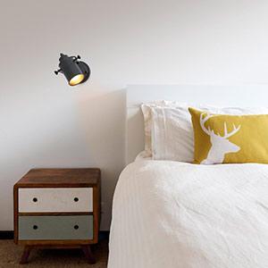 Spot mural rétro List à 1 lampe