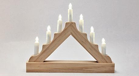 arc lumineux chandelier