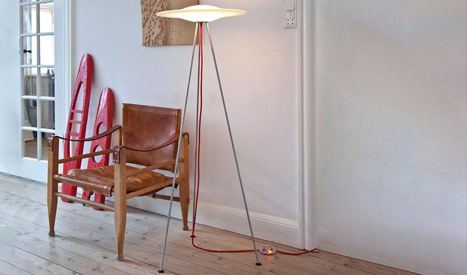 Les lampadaires modernes