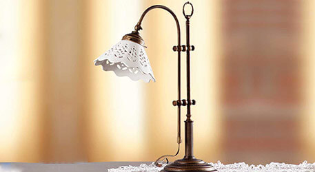 lampe de table rustique