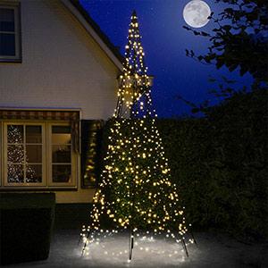 Beau sapin de Noël Fairybell® 4 m 640 lampes