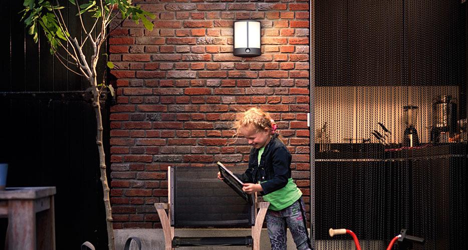 Luminaires pour façade