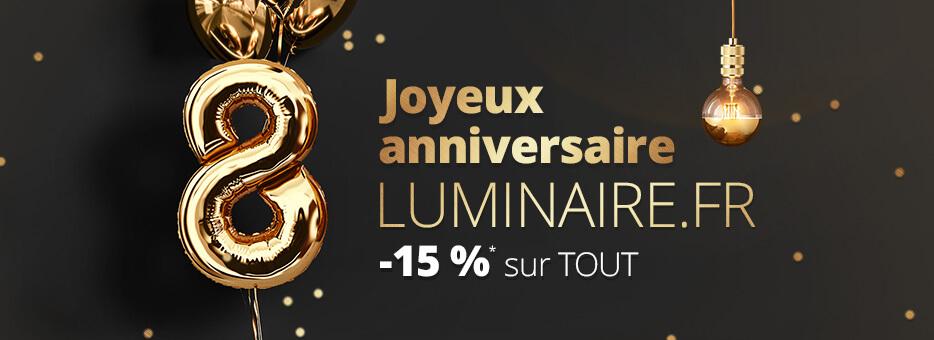 Anniversaire Luminaire.fr