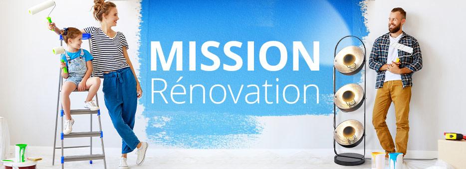 MISSION RÉNOVATION!