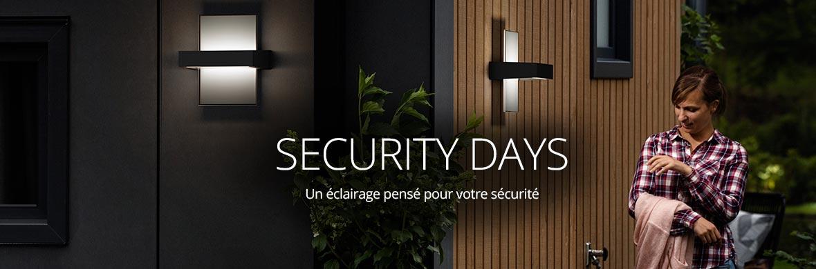 Les Security Days chez Luminaire.fr