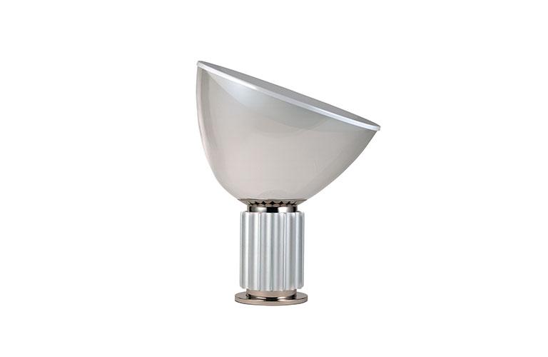 Lampe à poser futuriste TACCIA aluminium