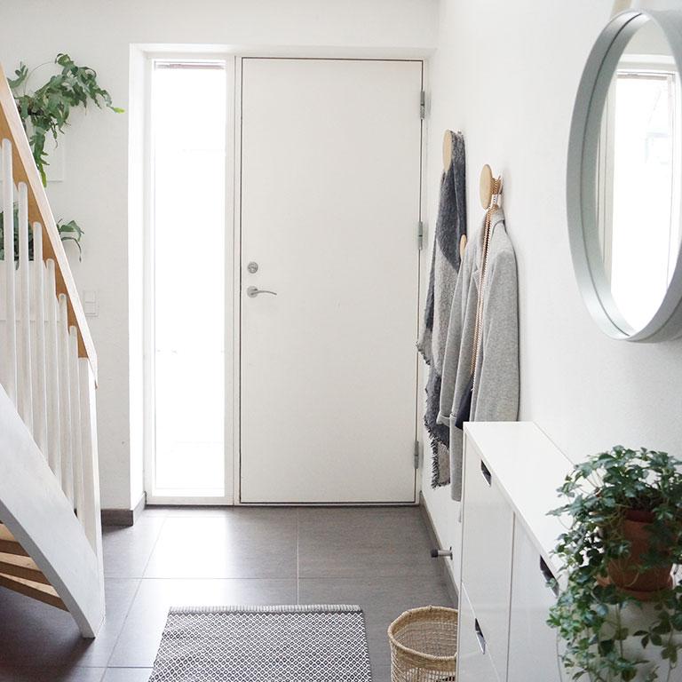 Couloir design scandinave Camilla Bisgaard Vendelbo