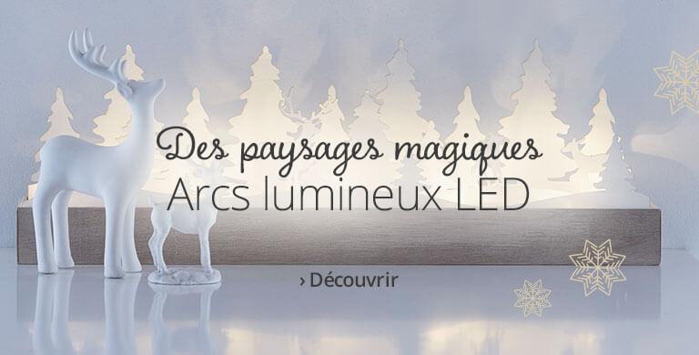 Arcs lumineux LED