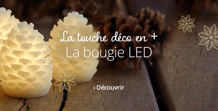 La bougie LED