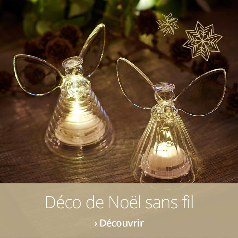 Décorations de Noël à piles