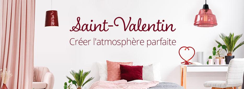 Saint-Valentin chez Luminaire.fr > idées déco romantiques et lumineuses