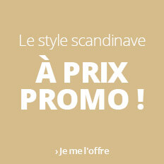 Les semaines du style : style scandinave en promo !